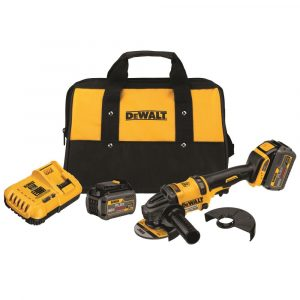 Dewalt DCG414T2 FLEXVOLT 60V MAX 4-1/2In to 6In Grinder Kit