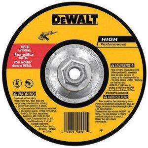 "Dewalt DW4548 Metal Grinding Wheel 7"" x 1/4"" x 5/8""-11"