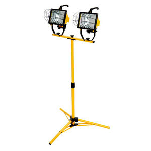 Double Halogen 1000 Watt Work Light